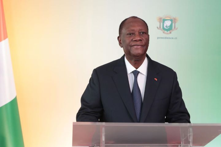 COMMEMORATION DU 60e ANNIVERSAIRE DE L'INDEPENDANCE DE LA REPUBLIQUE DE COTE D'IVOIRE MESSAGE A LA NATION DE S.E.M. LE PRESIDENT DE LA REPUBLIQUE